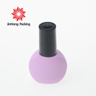 JinHong China suppliers free sample private label high quality 5ml mini empty glass nail polish bottle for gel polish oil use