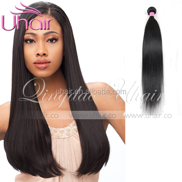 raw unprocessed comb electric brazilian straight hair