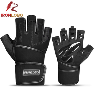 2019 Strategically-placed New tech BioForm pads Gym Gloves Fitness Training Weight lifting Gloves