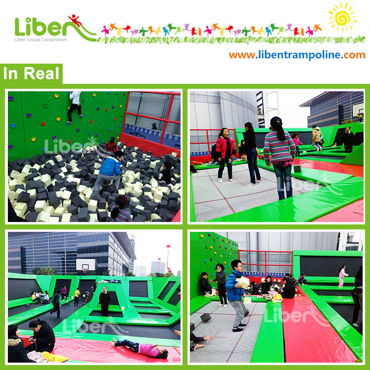 5.LE.B8.705.261.01 Popular Ninja Course Multi Trampoline Jumping Mat Accessories