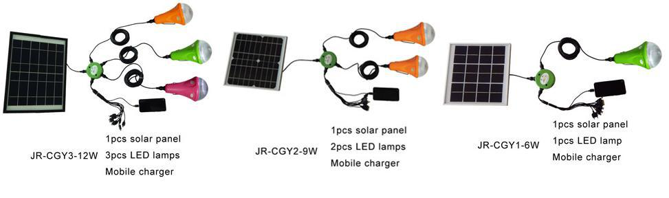 3w High Brightness Led Ce Certification Led Solar Lighting Kit ...