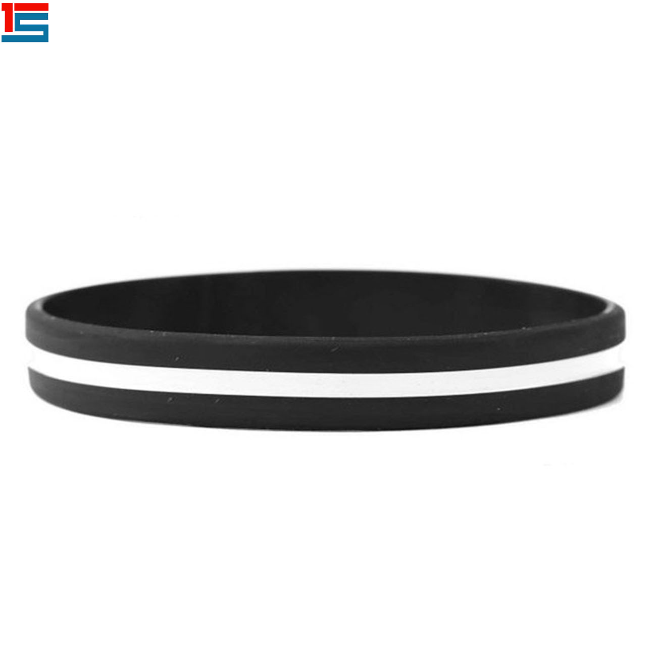 Custom Thin Blue Line Bracelet Thin Line Silicone Wristbands Buy