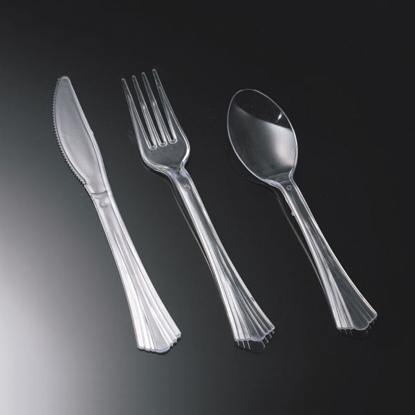 Individually Wrapped Plastic Cutlery