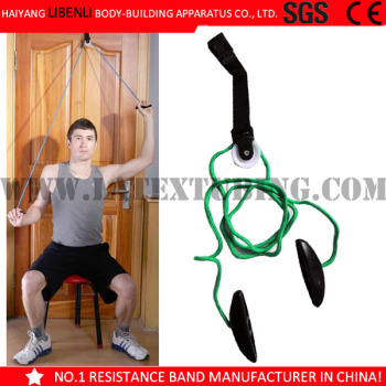 Exercise Equipment Strech Pulley Over The Door