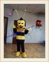 Custom adult bee character mascot