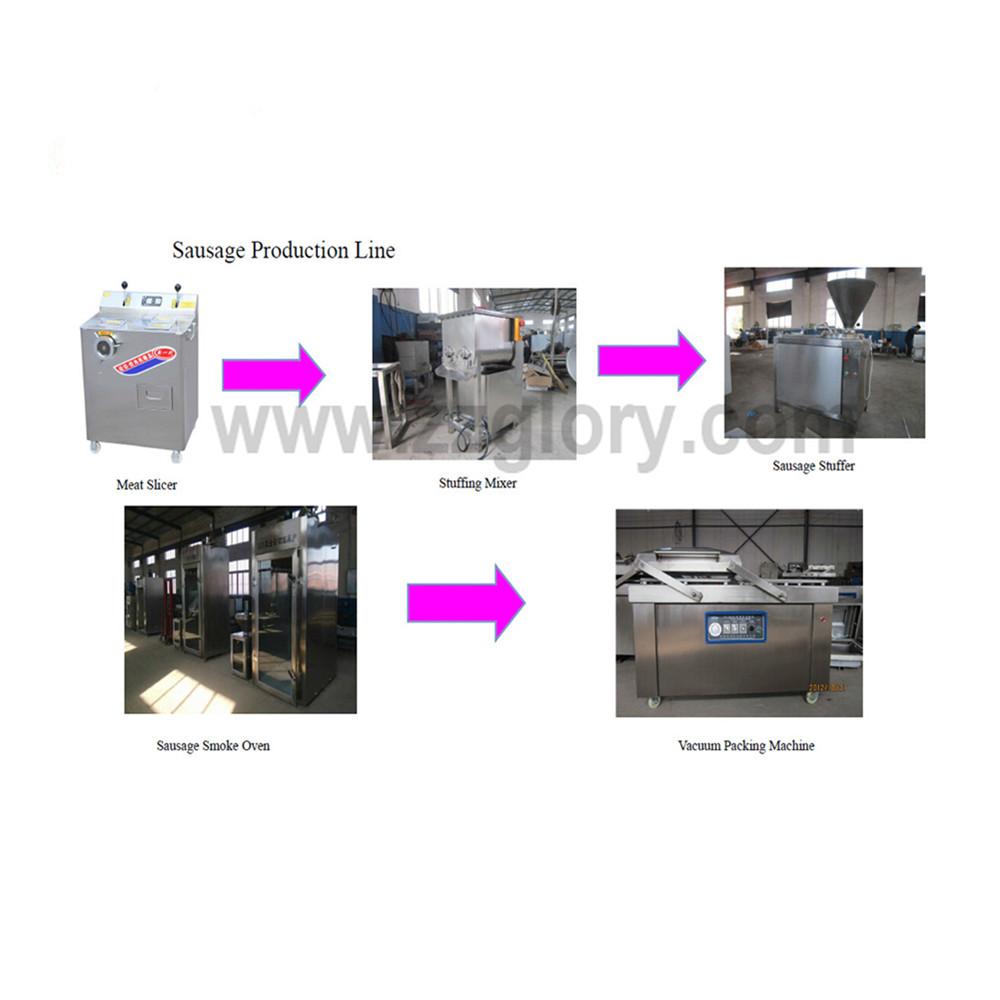 Sausage Making Machine SF150 Automatic Electric Hydraulic Sausage Stuffer