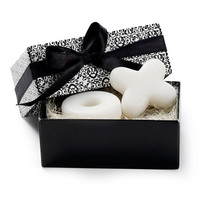 Wedding Door Gifts Hugs & Kisses from Mr. & Mrs. X O Design Scented Soap