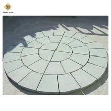 China cheaper flamed curved paving stone from quarry