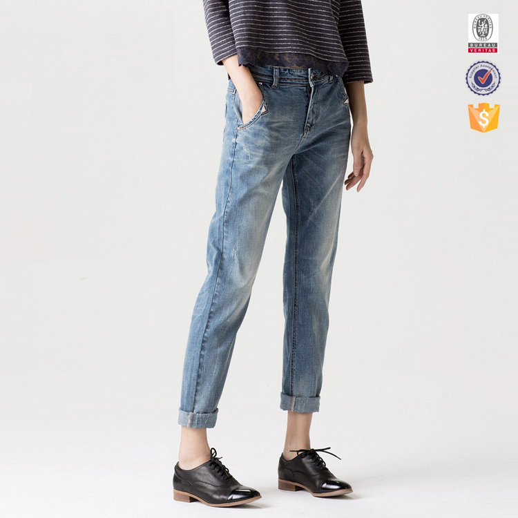 China oem manufacture wholesale kinds of custom jeans