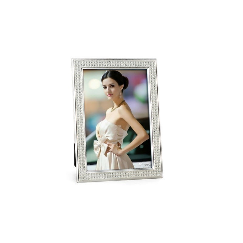 Customize Cute round circle shape mini photo picture frame/ Vintage Metal Gold Plated Frames/ rose gold