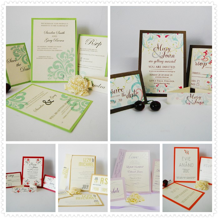 Purple Embossed Wedding Invitation Card With Envelopes In Chennai ...