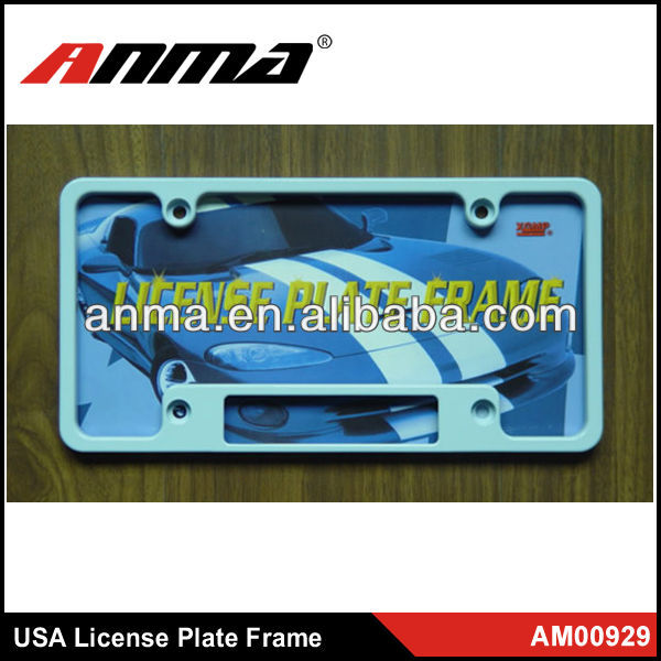 Car license plate frame scrolling led license plate frame