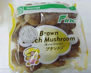 Finc fresh Soilless Culture mushroom champignon