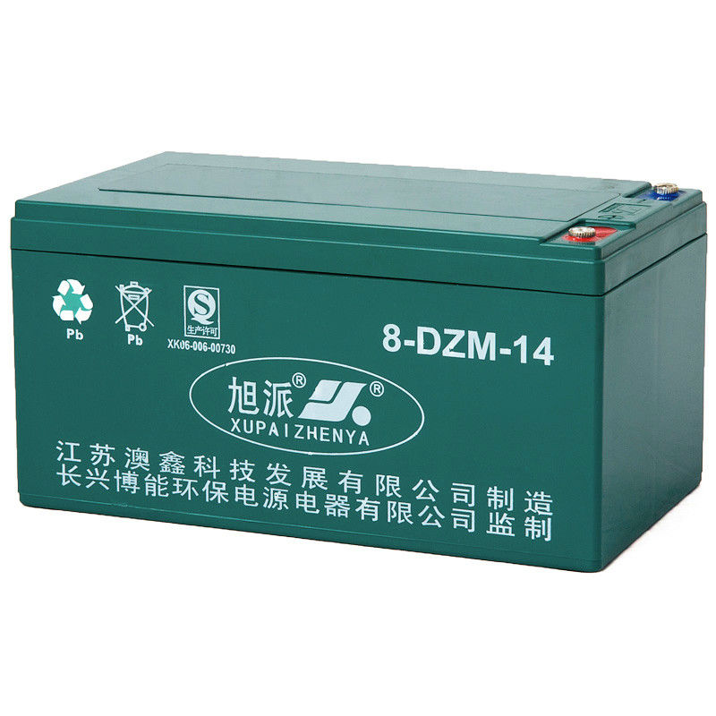 Maintenance free 16V14ah storage battery motorcycle for restoration