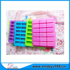 Rectangle forme silicone ice cube moule