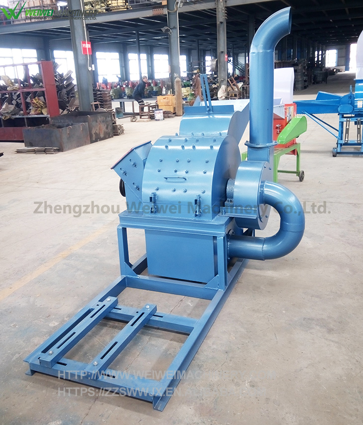 Weiwei machine wood shredder chipper