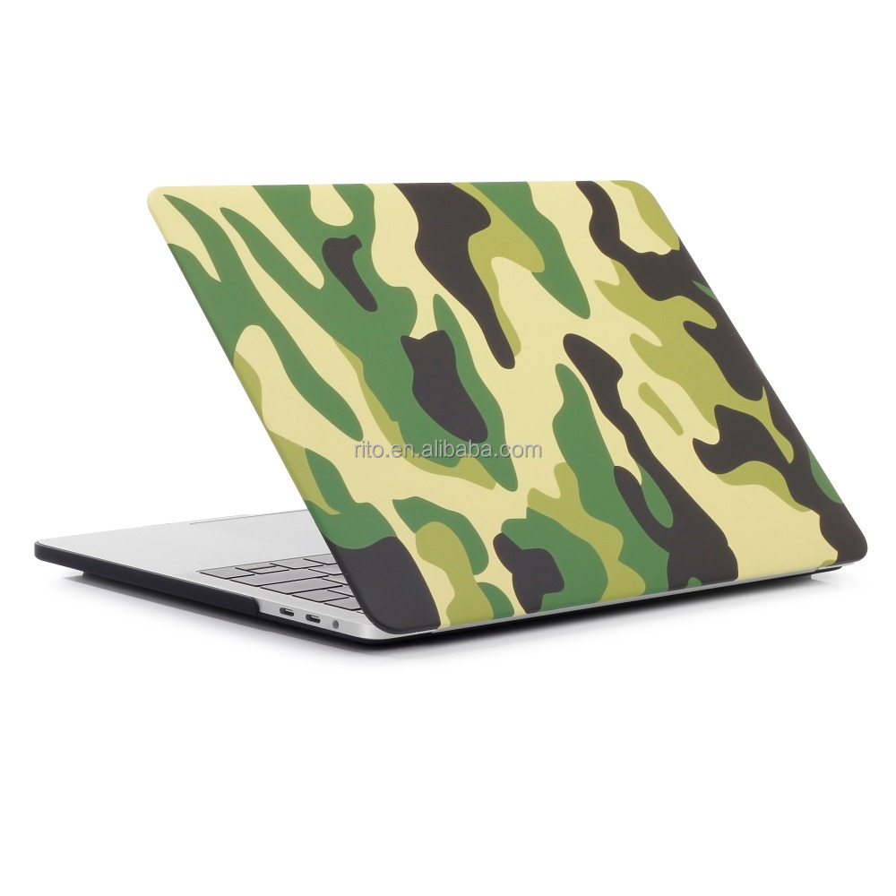 For Macbook Air Laptop Cover, Camouflage For Macbook Air 13 Hard Shell Case