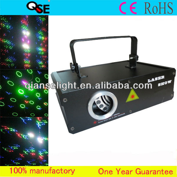 Professional Stage Light Full Color ILDA 5D Multi Animation 500mw RGB Laser Disco