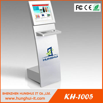 Ir touch screen kiosk price 19 inch HDMI monitor LCD ad player