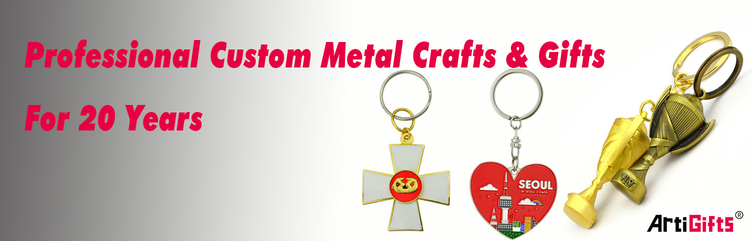 Metal custom supermarket shopping tool trolley coin lock keyring