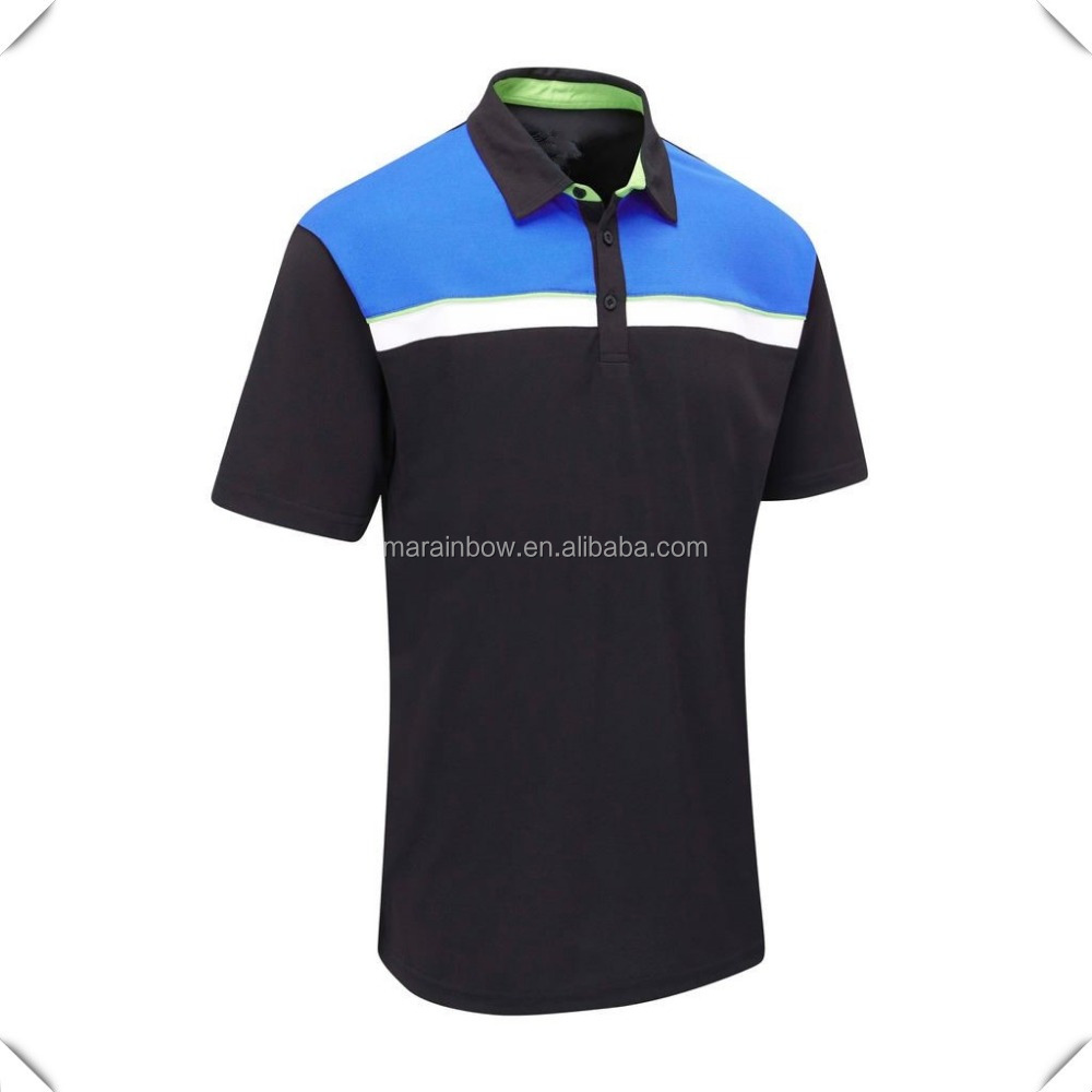 2016 Summer Short Sleeve Golf Polo Shirt high quality fashion design custom for mens with brand name