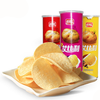 Crispy 110gram halal canned potato chips for sale