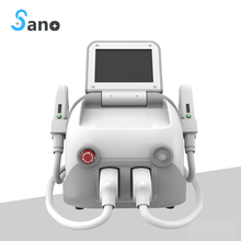 Promotion!!! home/beauty center/spa use IPL super hair removal laser machine skin rejuvenation 2 handpiece best price