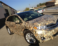 Grass Camouflage Vinyl Wrap Camo Car Film For Truck