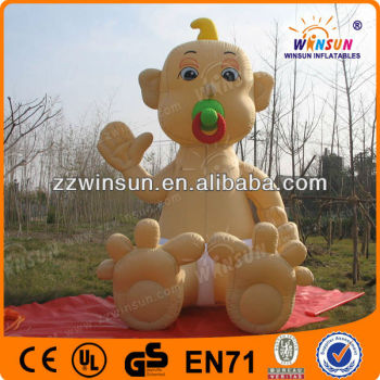 Dutch Cartoon Inflatable Baby With Nipple In Bathtub/buggy - Buy ...