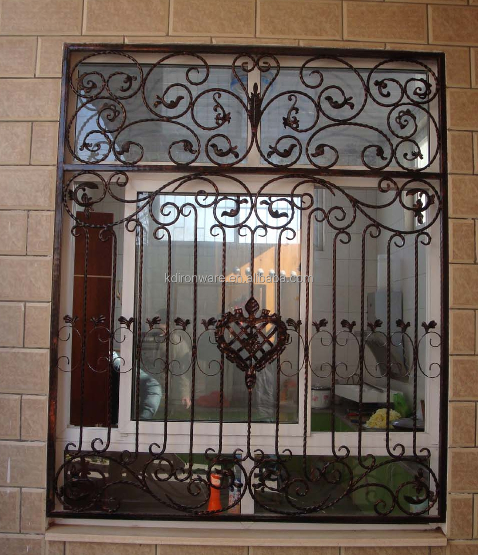 Beautiful Decorative Wrought Iron Window Grill Designs