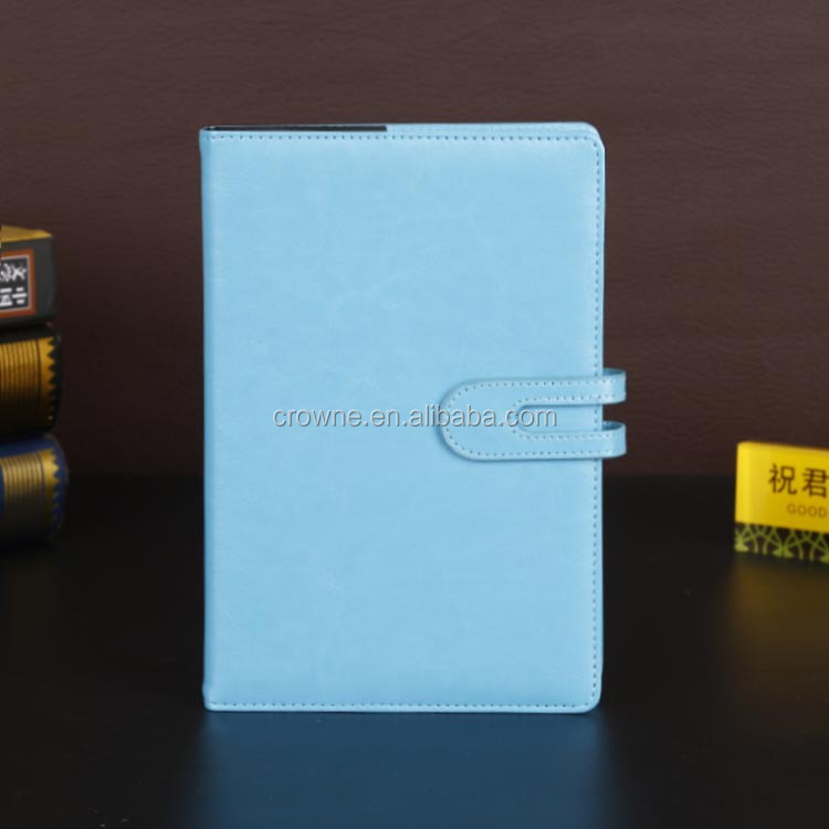 Competitive Price Blue Color Notebook Diary
