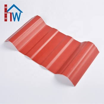 Factory Outlet Corrugated Plastic Upvc Roof Tile Sheet In