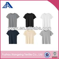 100 cotton cheap white plain t shirts in bulk