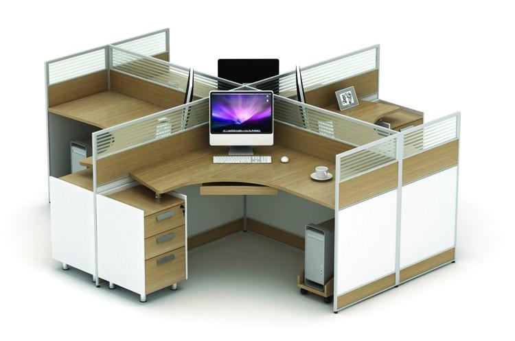 Muebles De Oficina Centro De La Estación De Escritorio De La ...