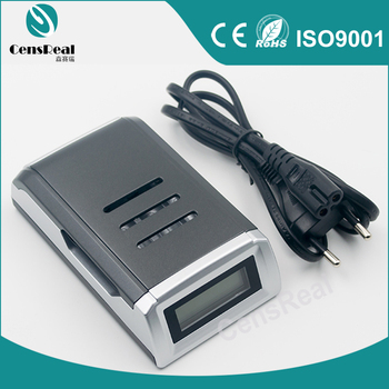 OEM New Design LCD Display DC 12V Fast AAA AA Rechargeable Battery Charger