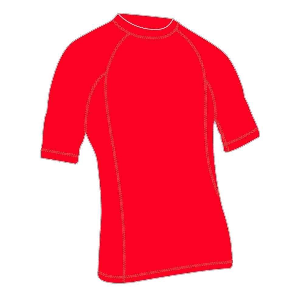 Adoretex Men's Short Sleeve Rashguard UPF 50+ Swim Shirt