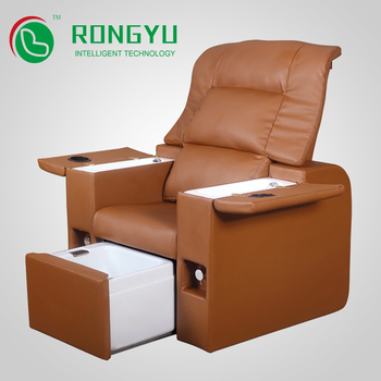 leather pedicure spa lounge chair for salon buy spa lounge chair