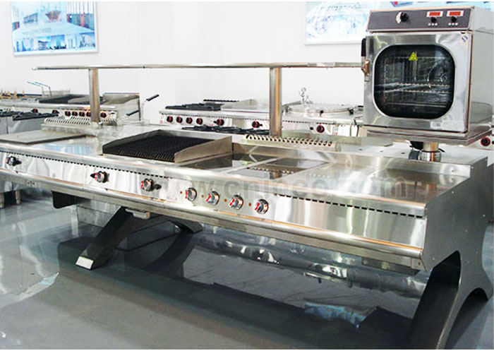 Buffet Restaurant Table Top Electric Range Flat Top Glass
