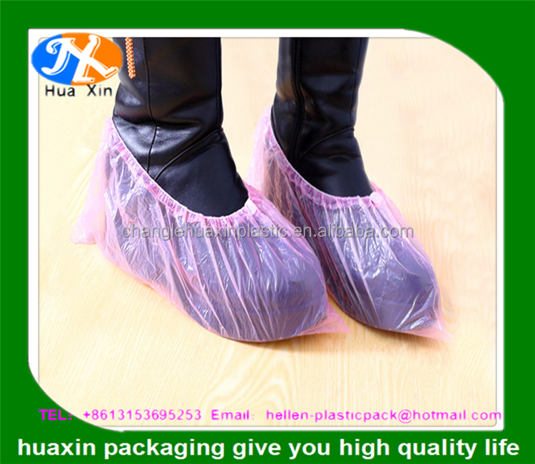 CPE/PE/Nonwoven Medical Disposable Shoe Cover