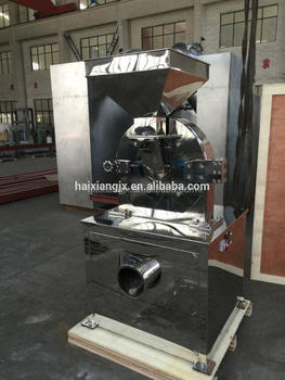 chinese herb crushing machine licorices powder milling machine herb grinder