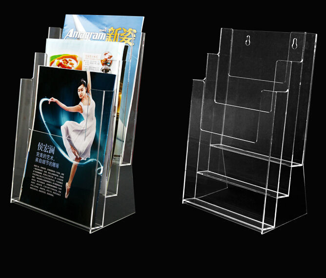 Hete verkoop boek staan wandmontage acryl boek houder weer te geven rekken product id - Thuis container verkoop ...