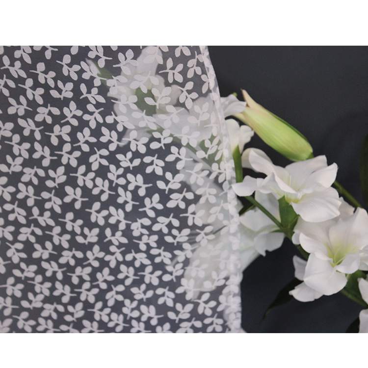 Home Textile Industry Shrink-Resistant Soft Lace Tulle curtain Fabric