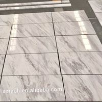 Own factory old quarry volakas white marble composite tile 24x24