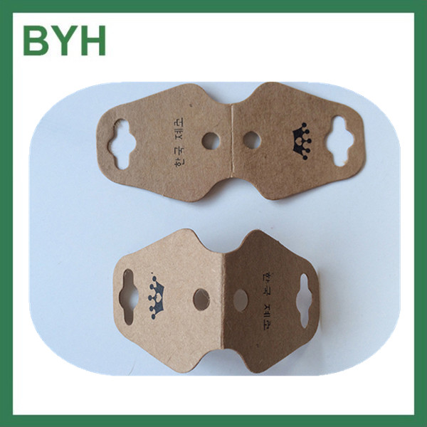 The Fashionable Custom Recyclable Kraft Paper Hang Tags For