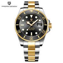 PAGANI Дизайн Мужские автоматические механические часы модный бренд креативные Роскошные водонепроницаемые Rolexable часы Relogio Masculino(Китай)