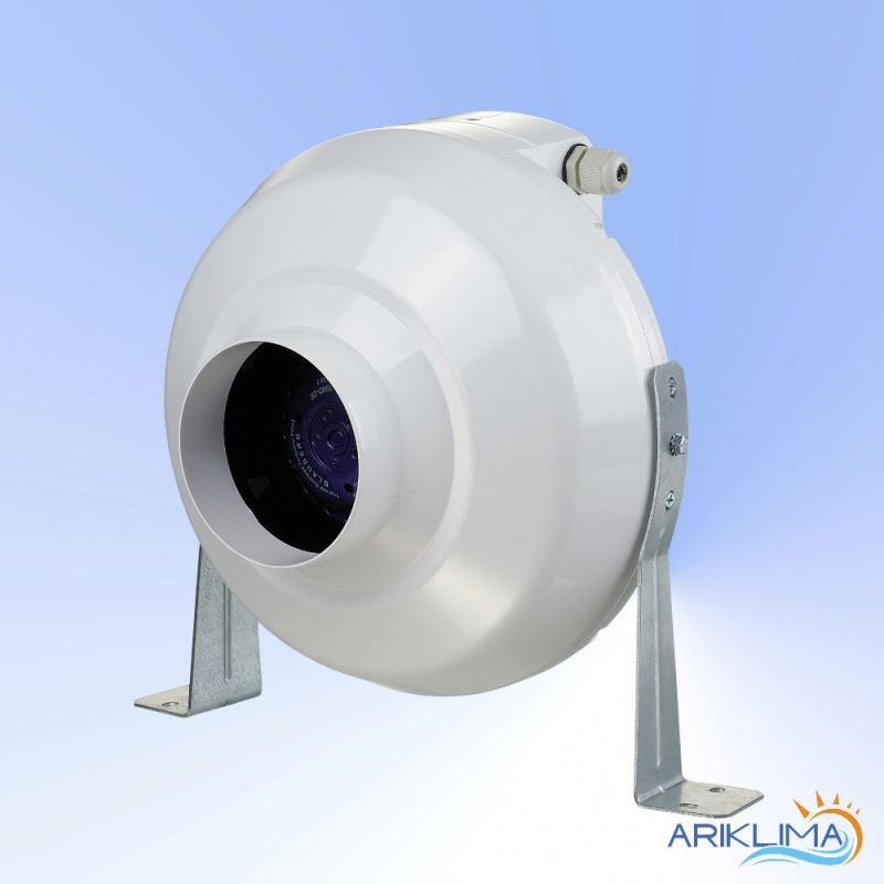 Industrial in line tube cooling fan for hvac PLAST-VK