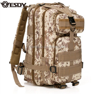 ESDY desert camo Transport Army Assault bag Multifunction Tactical Military Backpack