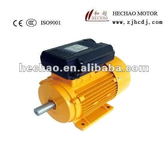 China manufacture YL series single phase asynchronous motors