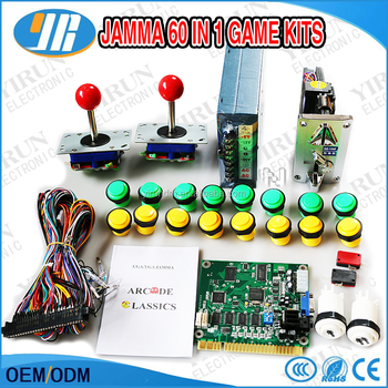 Arcade Game Parts Diy Bundles With Joystick Push Button Microswitch Multi  Game Board Machine Part Kits - Buy Diy Game Kit,Arcade Game Diy,Diy Kits