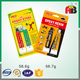 Quality-assured sell well packing epoxy glue two component cartridge